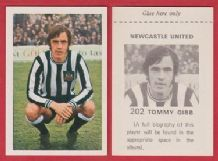 Newcastle United Tommy Gibb